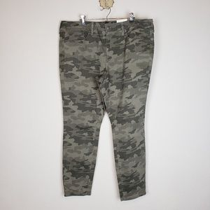 Universal threads high rise skinny camo jeans